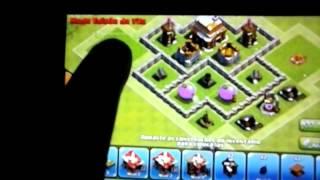 Clash of Clans layout para Centro de Vila 4 ( Hibrido )
