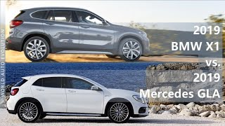 2019 BMW X1 vs 2019 Mercedes GLA (technical comparison)