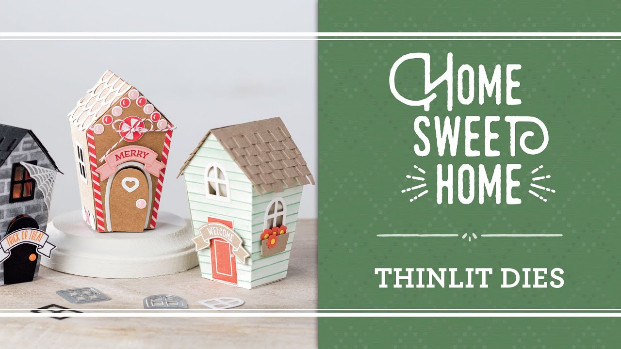 Home Sweet Home Stamp Set And Framelits By Stampin Up