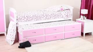 Kipling Pink Captains Bed   Sweet Dreams Bedkingdom.co.uk