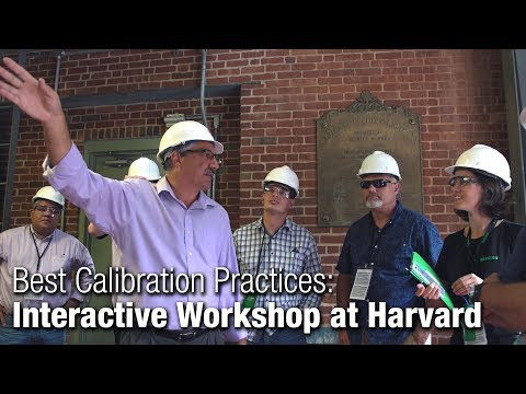 Calibration Workshop at Harvard, hosted by Beamex