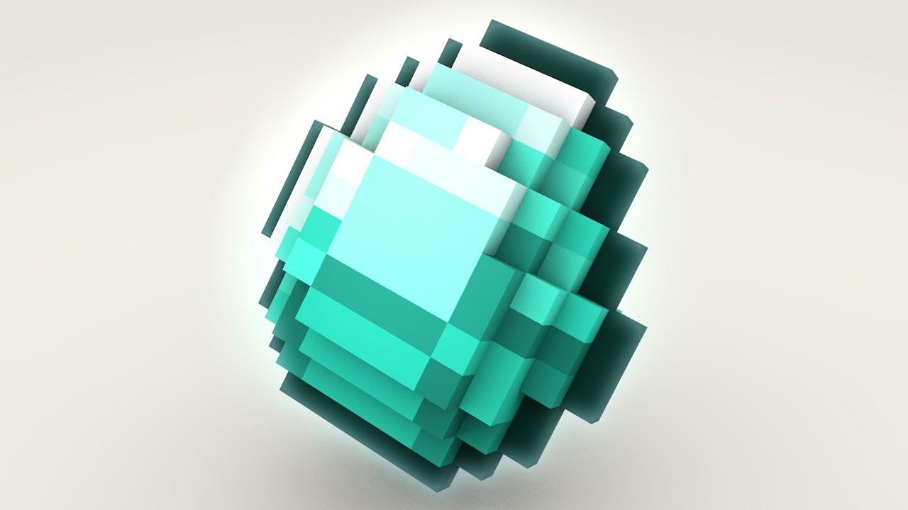 Картинки алмазы в майнкрафте