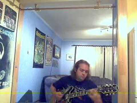 """me playing along with Death's """"Left to die"""""""