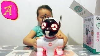 Игрушка собака Smart Dancer. Распаковка и обзор. Toy dog Unpacking and reviewing