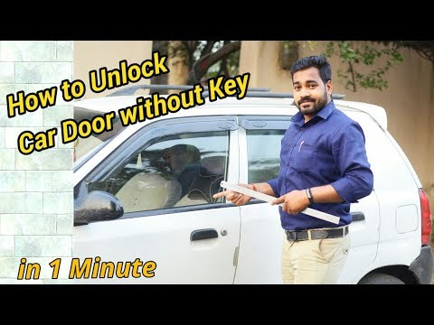 how-to-unlock-car-door-without-key-  -in-one-minute