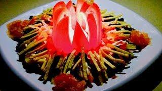 Фантастический праздничный салат который взорвал интернет в Новом году!! Рецепты салатов.