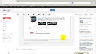 Google Account Einstellungen, Tools und Webprotokoll erläutert.