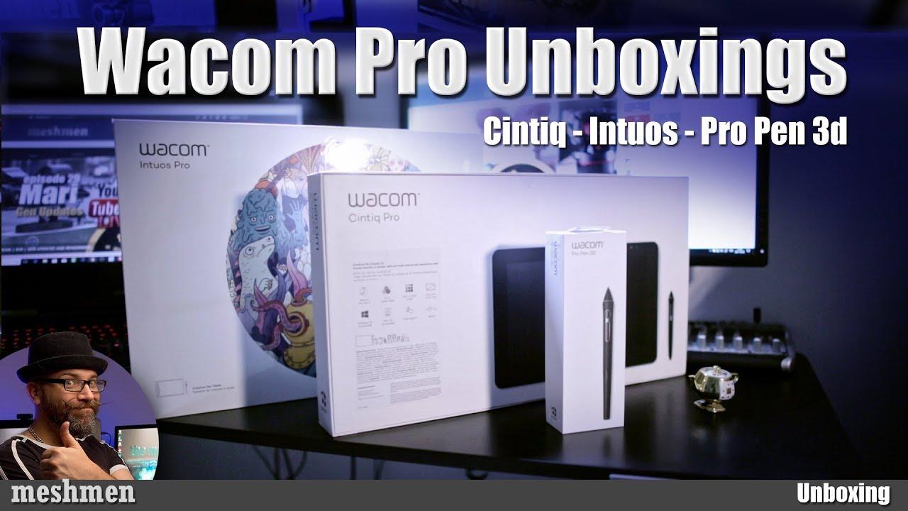 Wacom Pro Pen 3D hands on review and setup in Maya Mari and