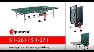 Купить теннисный стол в Кишиневе(Купить теннисный стол Sponeta ExpertLine S 1-26 i в Кишиневе Sponeta - немецкое качество теннисных столов! www.megasport.md - здесь..., 2015-10-30T14:05:27.000Z)
