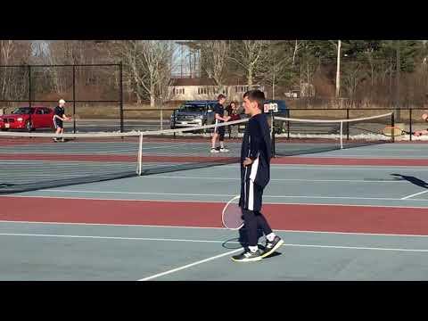 Erskine Academy at Medomak Valley boys tennis