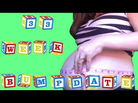 33-weeks-pregnant+belly-shot