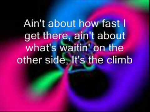 The Climb Karaoke Version - With Lyrics on Screen
