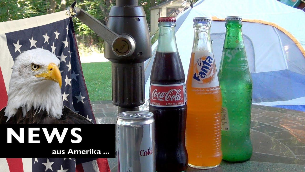 Neue Getränke aus Amerika - YouTube