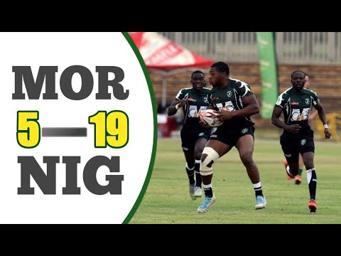 Africa Cup Rugby 7s 20016: Morocco 5 V 19 Nigeria