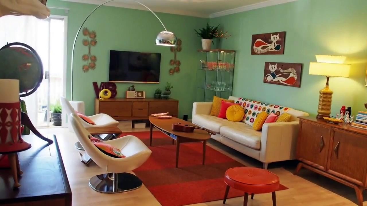50 Retro Living Room Ideas Youtube