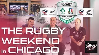 Chicago Rugby Weekend: Ireland's Ultan Dillane, NZ's Kendra Cocksedge, Italy's Edoardo Gori