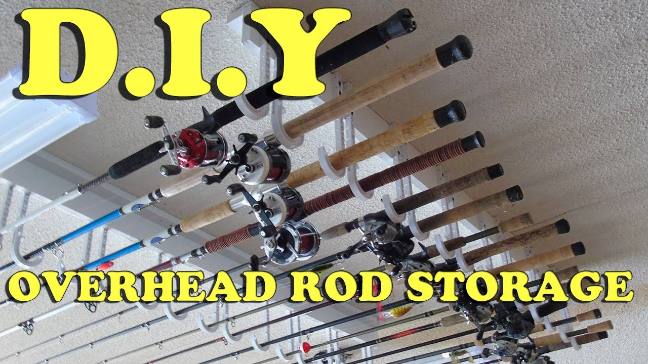 Diy How To Build A Cheap Easy Overhead Fishing Rod