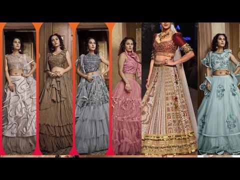 Fancy party wear designer lehega choli   2020  // party wear lehenga choli