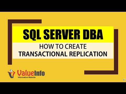 How to Configure Transactional Replication in SQL Server - Step by Step