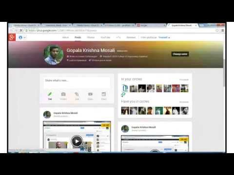 Testing YouTube Broadcasting with Google plus