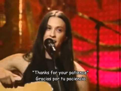 Alanis Morissette - Head over feet - unplugged (español) mp3