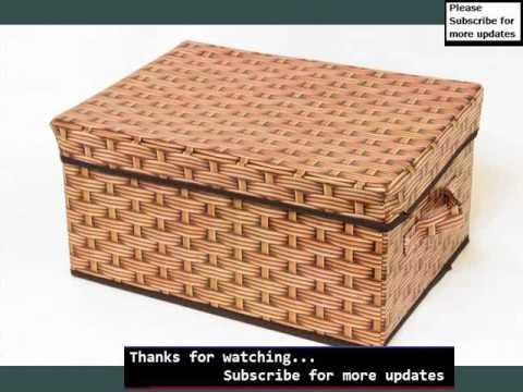 Woven Storage Storage Boxes U0026 Baskets | Wicker Storage Cube