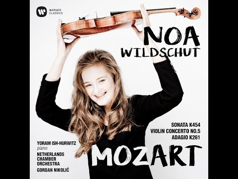 Violinist Noa Wildschut talks about her debut album: Mozart Violin Concerto No.5