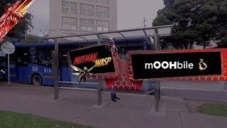 Case Study MOOH Ant-Man CineColor en Colombia