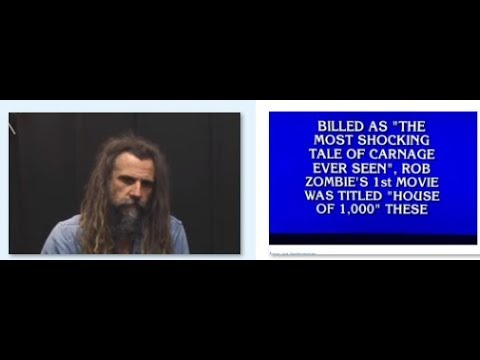 Rob Zombie question makes TV show Jeopardy - Guitarist Ol Drake rejoins Evile -
