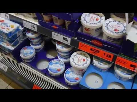 Англия цены на продукты магазин LIDL
