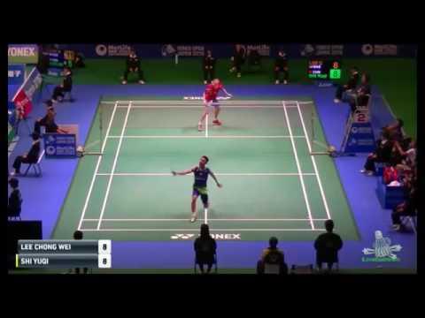 Japan Badminton QF [1] Lee Chong Wei 李宗偉 (MAS) vs Shi YuQi 石宇奇 (CHN)