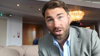 EDDIE HEARN ON X-RATED WHYTE-LEWISON PRESSER, EXPLAINS TYSON FURY COMMENTS & SAYS AJ WANTS KLITSCHKO