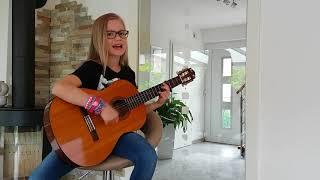 LINA LEICHT ♡ Cover Gitarre Lilly Rubina 9 Jahre