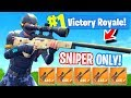 Download *NEW* Sniper ONLY Mode In Fortnite: Battle Royale