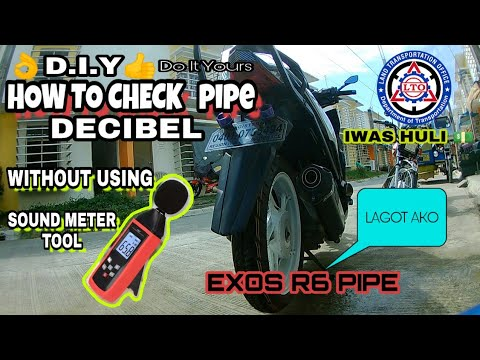 D.I.Y CHECKING OF PIPE DECIBEL WITHOUT USING SOUND METER TOOL (tagalog