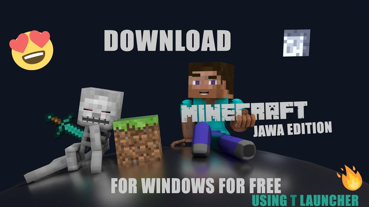 HOW TO DOWNLOAD MINECRAFT JAWA EDITION FOR PC FREE FOR 10 AND 10