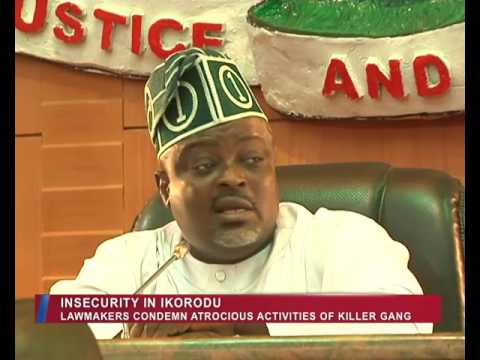 Lagos Parliament | Insecurity in Ikorodu