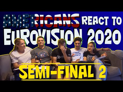 Americans React (... And Talk A Lot) To Eurovision 2020: Semifinal 2
