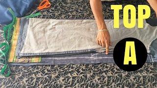 Chudidar Top Cutting in Tamil Part-A   சுடிதார் கட்டிங்