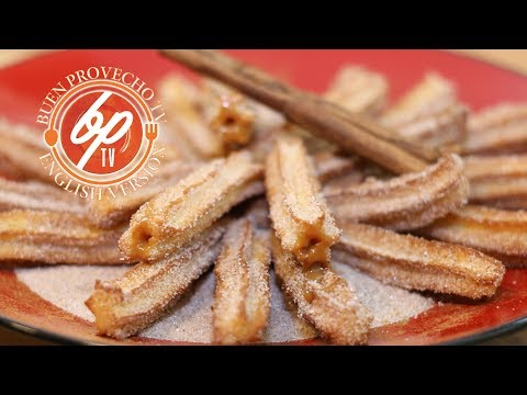 How To Make Churros Stuffed With Dulce De Leche