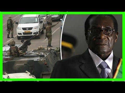 Zimbabwe's robert mugabe told his fate is sealed with deal in hand