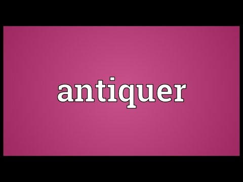 Header of antiquer