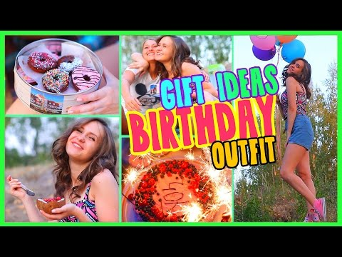♥DIY Birthday Gift Ideas & Desserts+ Outfit SUMMER | IVI_Flou