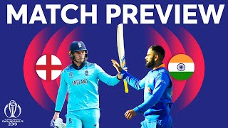 Match Preview - England vs India | ICC Cricket World Cup 2019