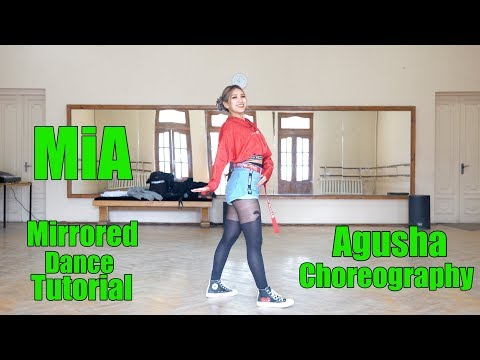 Bad Bunny Feat. Drake - Mia | Mirrored Dance Tutorial | Agusha Choreography | Fam Entertainment