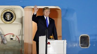 Trump arrives in Singapore for North Korea summit