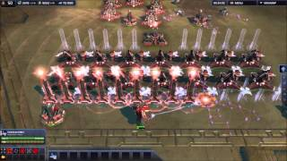 Supreme Commander 2 PVP Trolling With Artillery