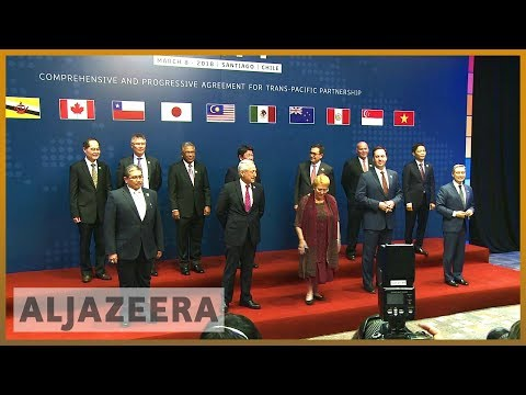 TPP trade agreement signed countering US protectionism | Al Jazeera English