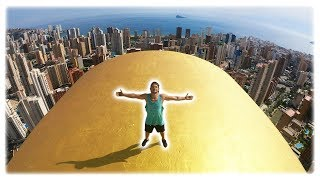 We climb to the HIGHEST buildings in SPAIN
