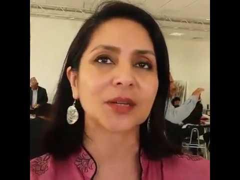 Dr. Dina Bangdel NEPAL QATAR Community Art Collabration at VCUQ - Live Video